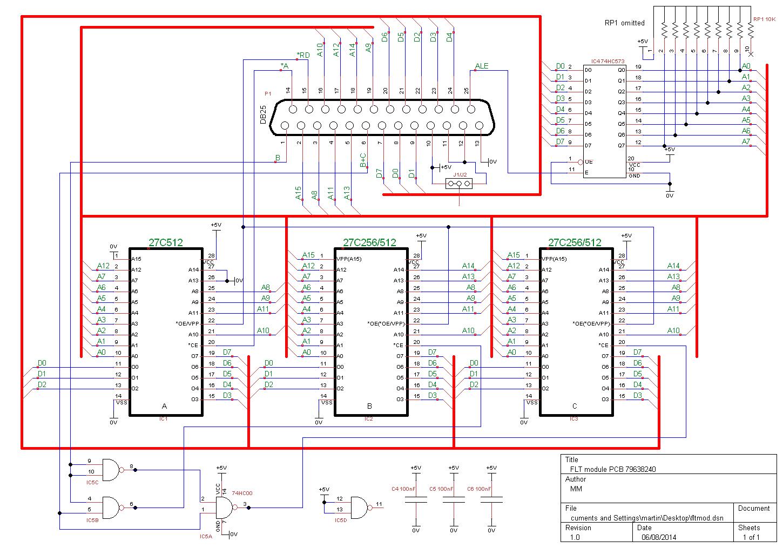 module pcb type 2 circuit diagram